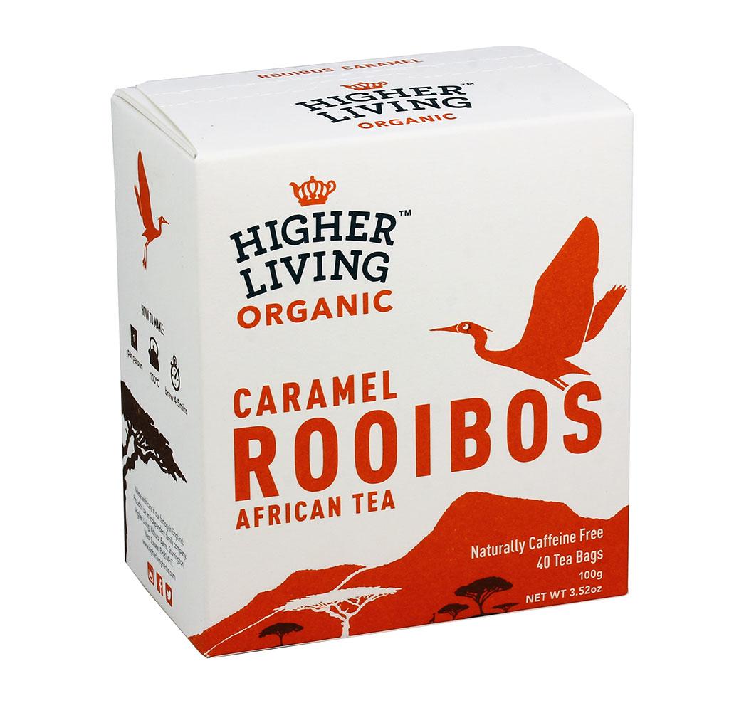 Image of Higher Living Te' Roiboos Caramello Bio 40 Filtri 974403216