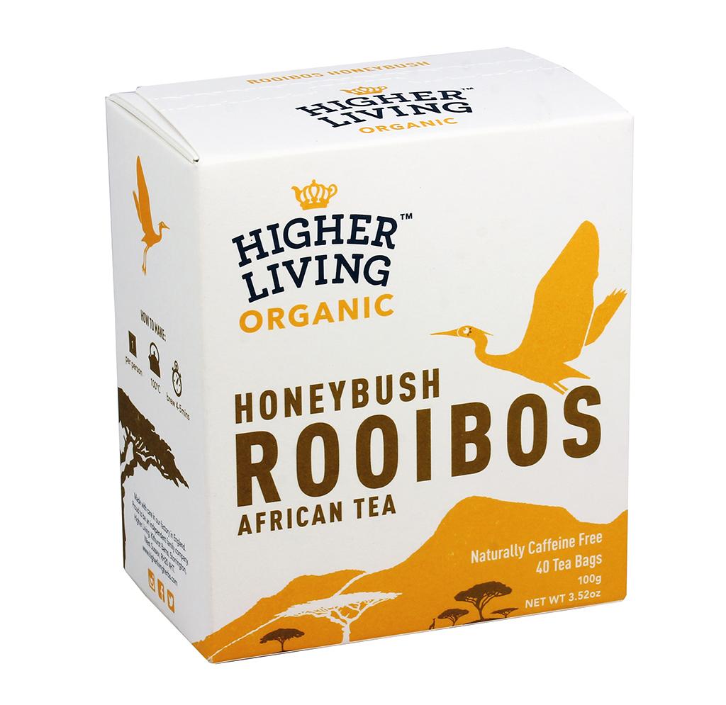 Image of Higher Living Te' Roiboos Honey Bush Bio 40 Filtri 974403228