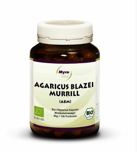 Image of Freeland Agaricus Blazei Murrill (ABM) Integratore Alimentare 93 Capsule 974508083