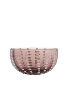 Image of Zafferano Bowl Coppetta Vetro Perle Ametista 2 Pezzi 975004944