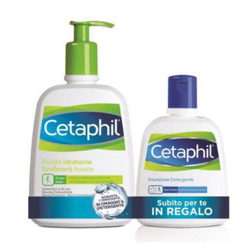 Image of Cetaphil Fluido Idratante 470ml+Emulsione Detergente 250ml 975007257