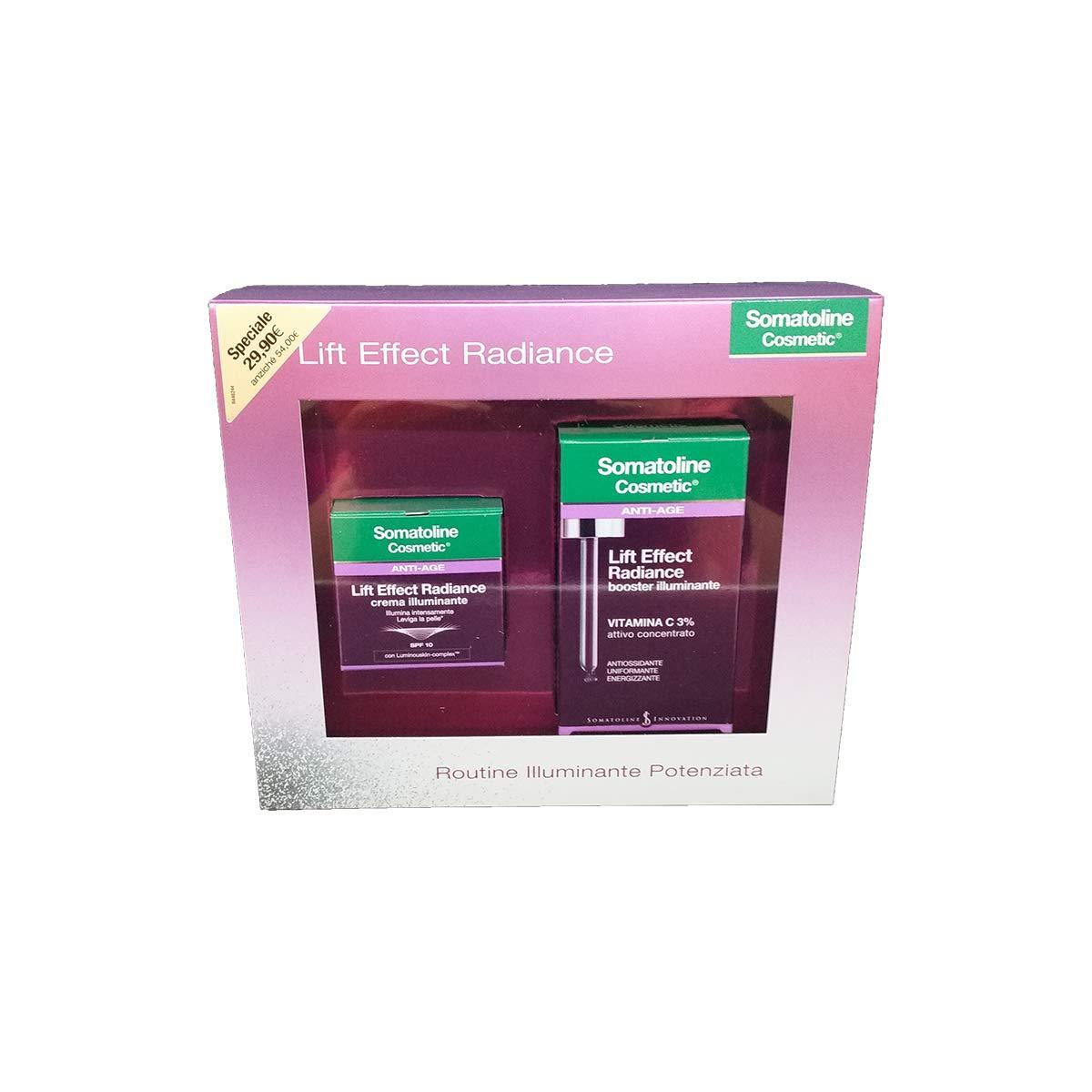 Image of Somatoline Cosmetic Viso Radiance Crema+Booster Illuminamte Prodotti Per Il Viso