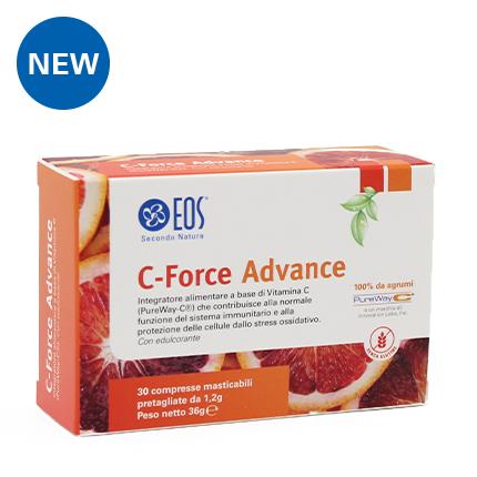 Eos C-Force Advance Integratore Alimentare 30 Compresse Masticabili
