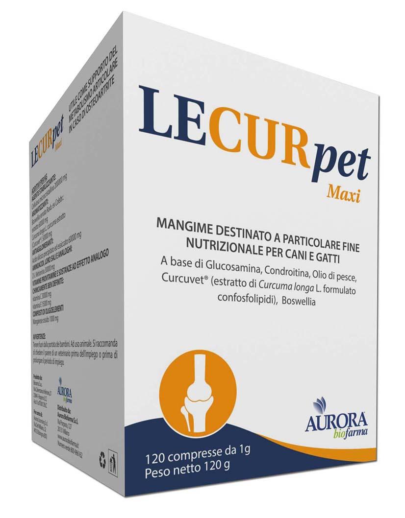 Image of Aurora Biofarm Lecurpet Maxi 120 Compresse 975443235