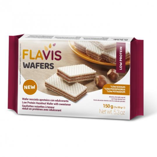 Flavis Wafers Nocciola Aproteico 150g 3x50g