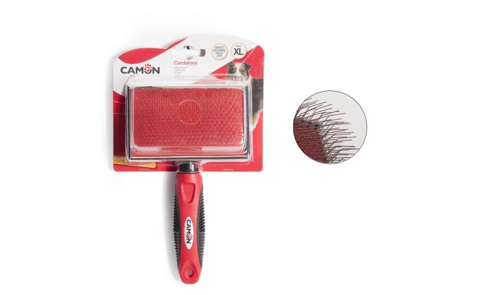Image of Camon Cardatore Denti Curvi E Lunghi In Acciaio 1 Pezzo