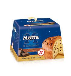 Image of Motta Panettone con Gocce di Cioccolato Fondente Senza Glutine 400g 976007258