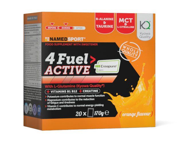 Image of 4fuel Active Integratore Alimentare 20 Bustine