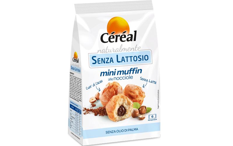 Cereal Buoni Senza Mini Muffin Alle Nocciole Senza Glutine Senza Lattosio 180g