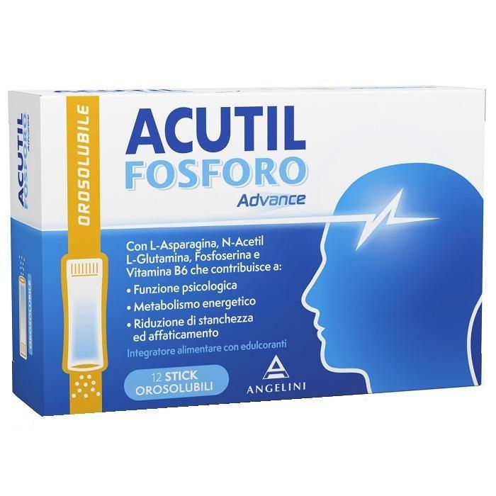 Image of ACUTIL FOSFORO Advance ANGELINI 12 Stick Orosolubili.
