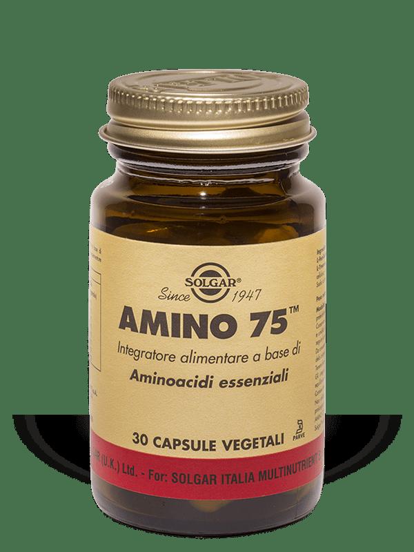 Amino 75 Solgar 30 Capsule Vegetali