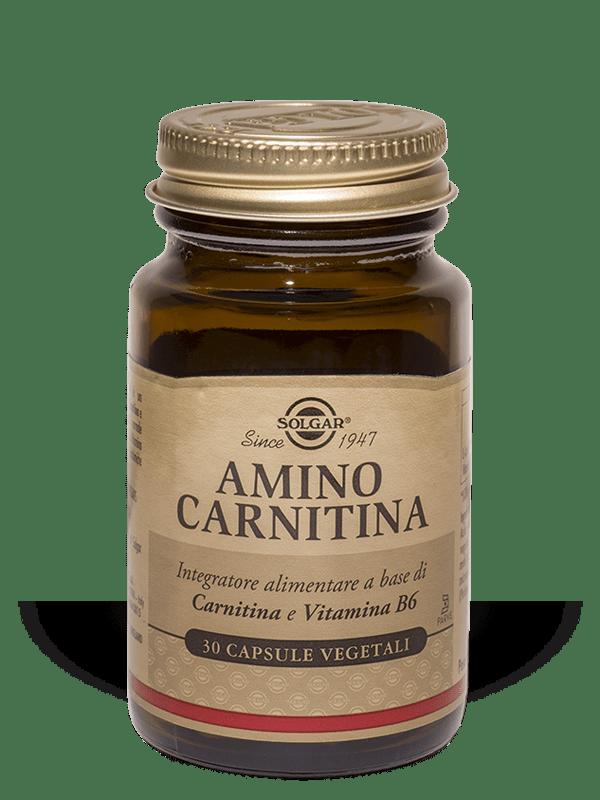 Amino Carnitina Solgar 30 Capsule Vegetali