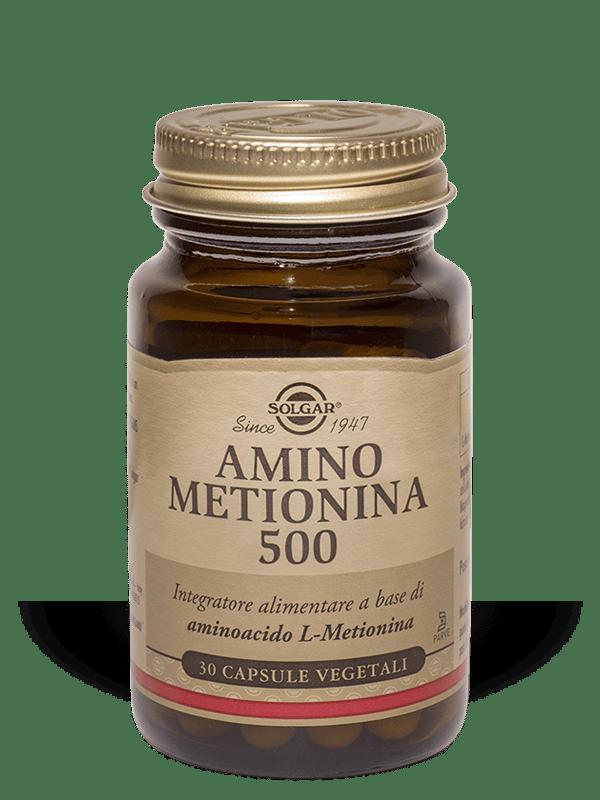 Amino Metionina 500 Solgar 30 Capsule Vegetali
