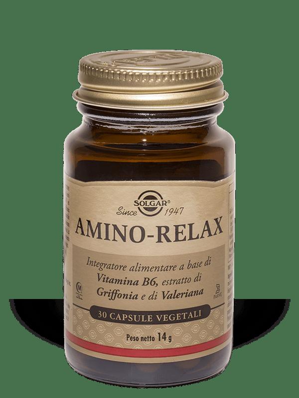 Amino Relax Solgar 30 Capsule Vegetali
