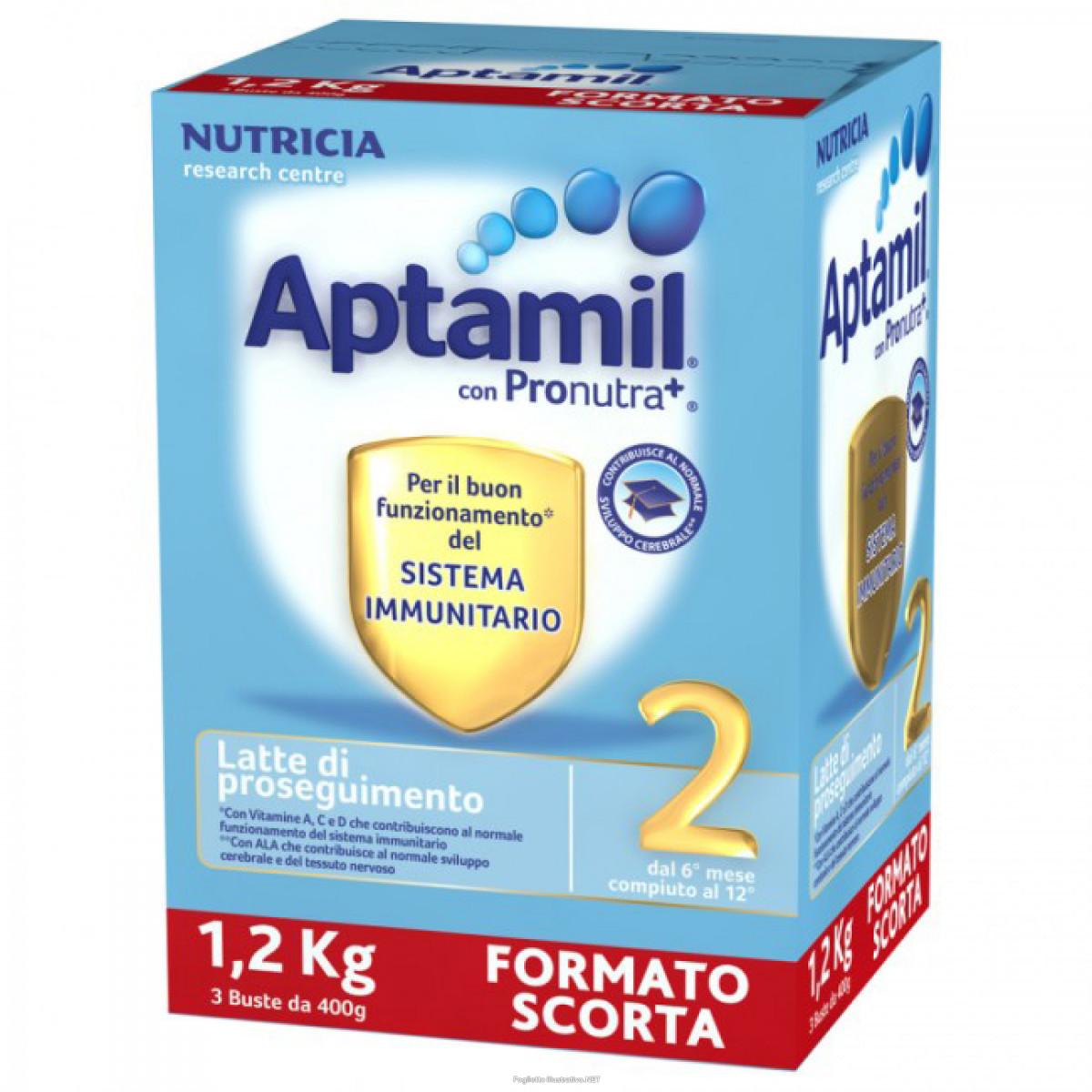 Image of Aptamil 2 Latte Di Proseguimento Nutricia 1200g