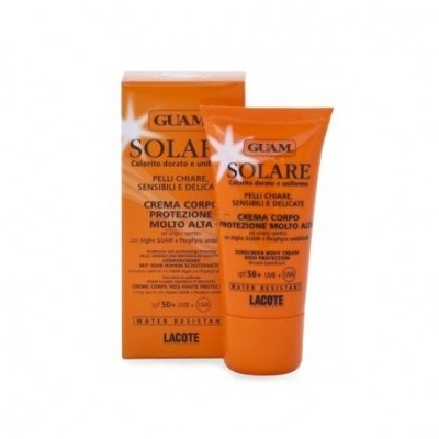 Crema Corpo Protezione Molto Alta SPF50+ Guam Solare 50ml