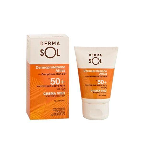 Crema Solare Viso Protezione Molto Alta Spf50+ Dermasol 50ml