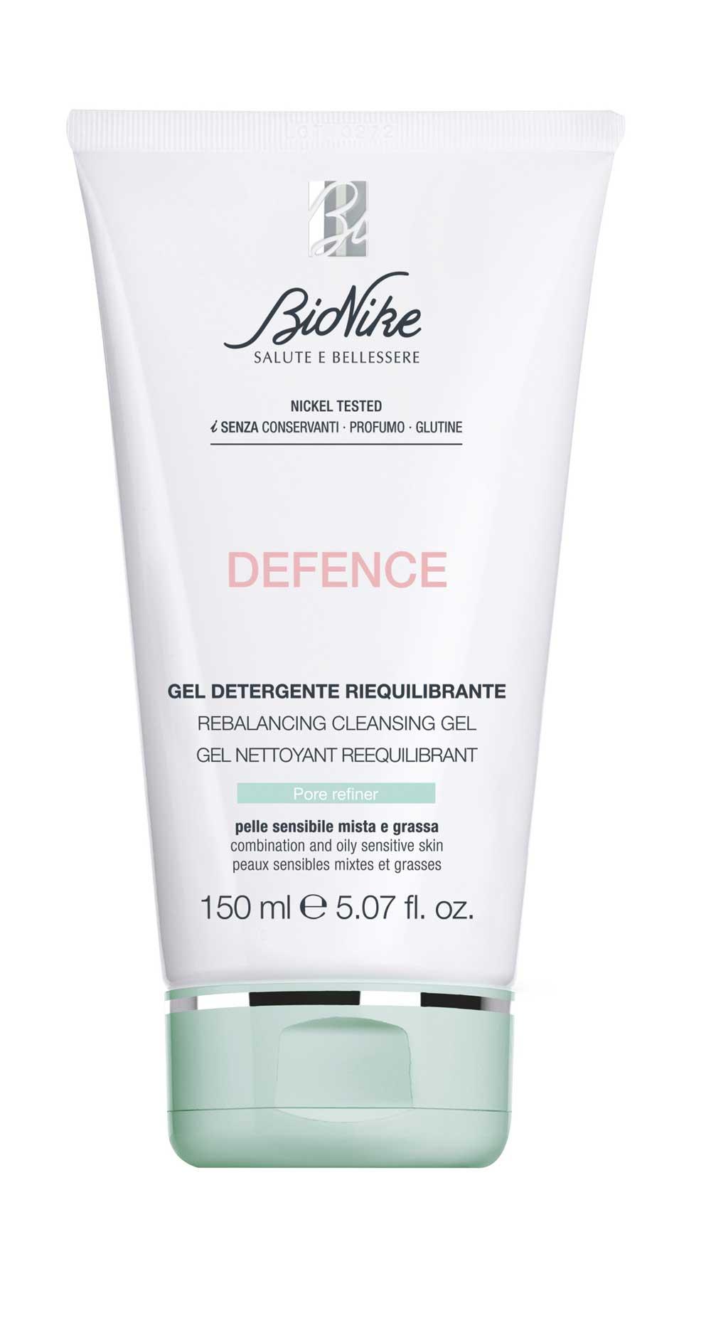 Defence Gel Detergente Riequilibrante BioNike 150ml