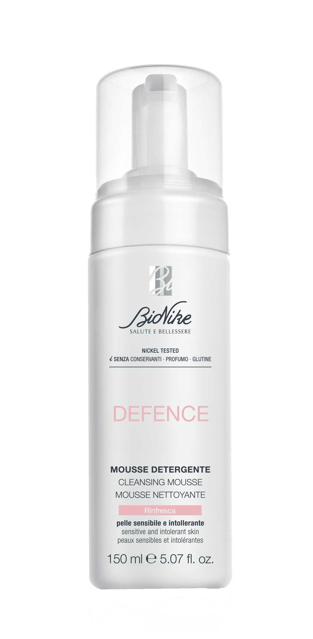 Defence Mousse Detergente BioNike 150ml