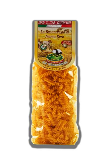 Image of Alimenta 2000 Le Vesuviane Fusilli Pasta Senza Glutine 500g 921723957