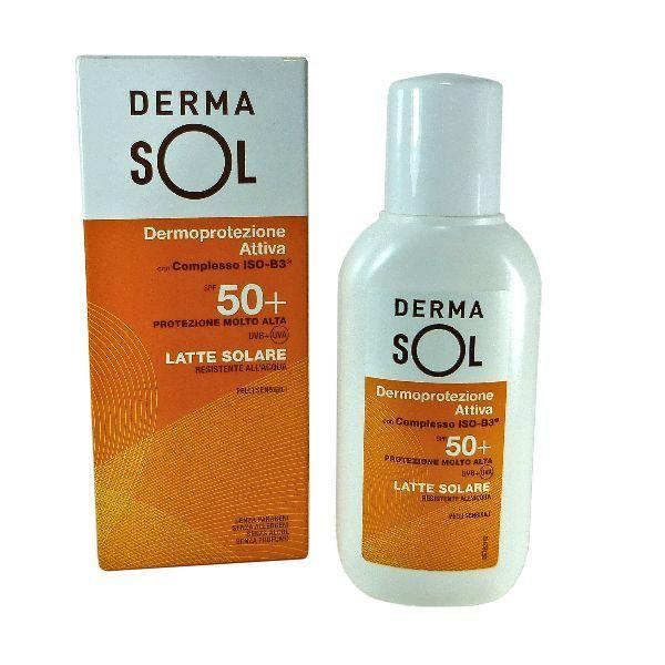 Latte Solare Protezione Molto Alta Spf50+ Dermasol 150ml