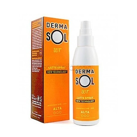 Latte Spray Protezione Alta Spf30 Dermasol Wr 150ml