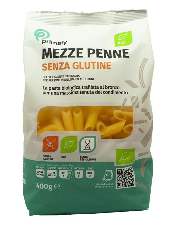 Mezze Penne Senza Glutine Bio Primaly 400g