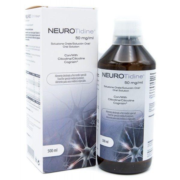 Neurotidine Soluzione Orale 50mg/ml Omikron 500ml