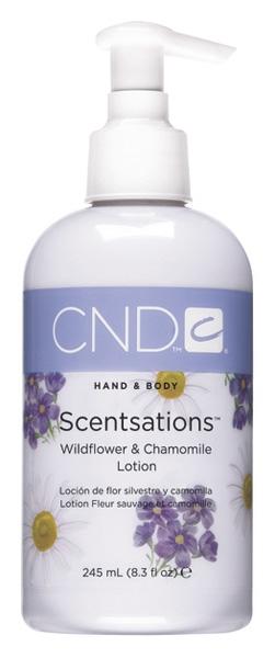 Image of Cnd Hand Body Scentsations - Wildflower & Chamomile Lozione Idratante 245ml P00002574