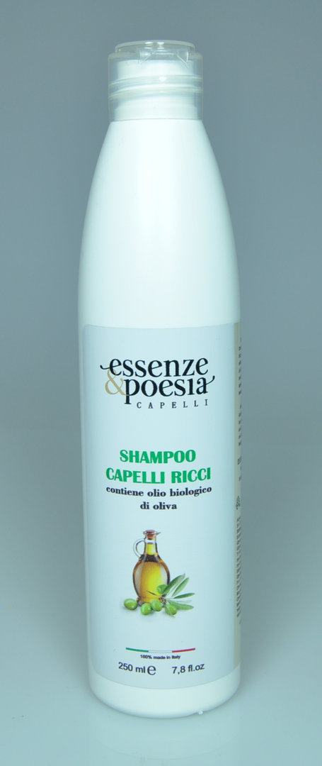 Essenze & Poesia Curly Hair Shampoo With Olive Oil 250ml