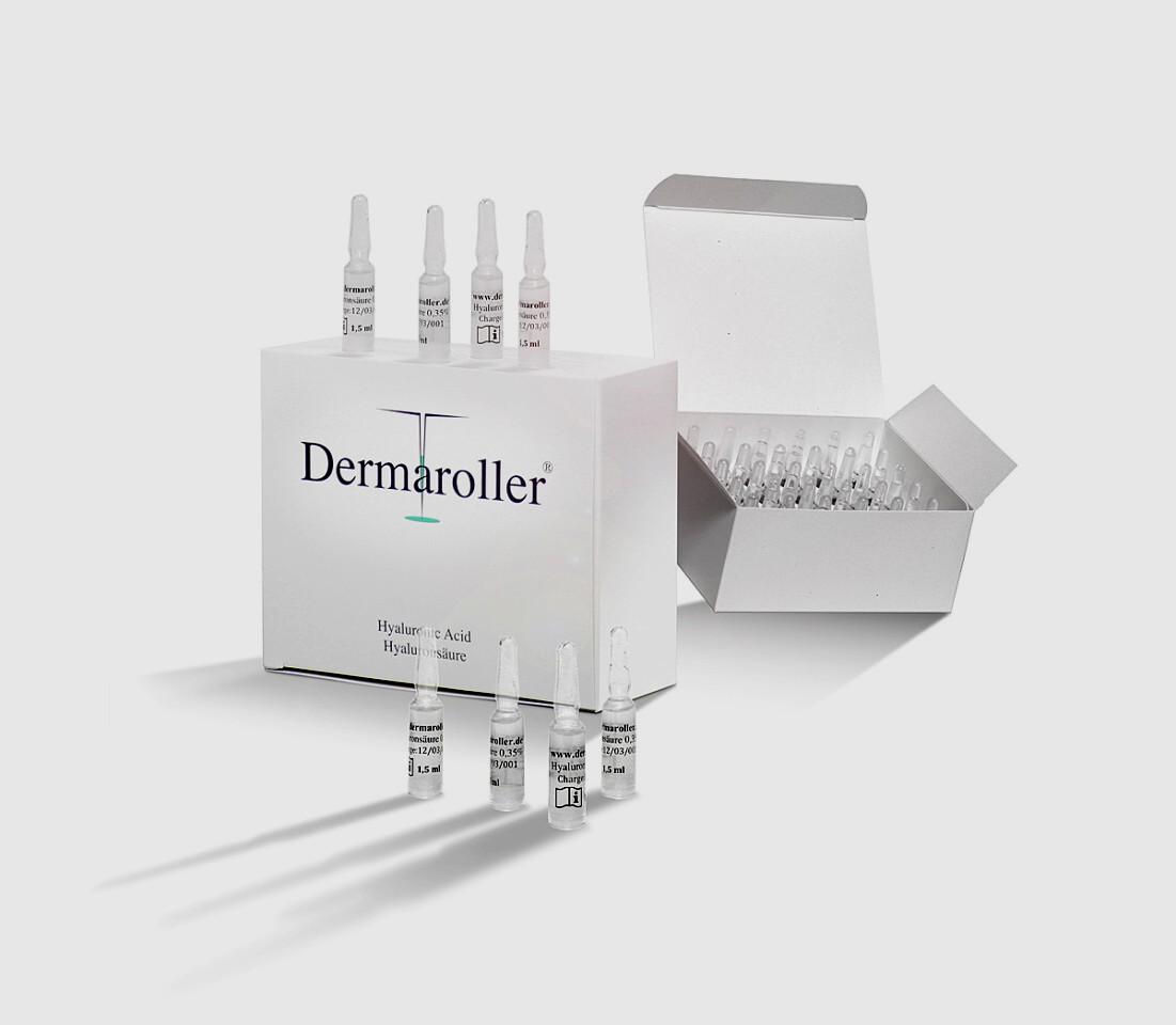 Image of Dermaroller Acido Ialuronico Trattamento Antiaging Fiale Da 1,5ml P00014315