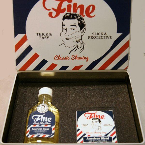 Fine Kit American Blend After Shave 100ml + Shaving Soap 100g