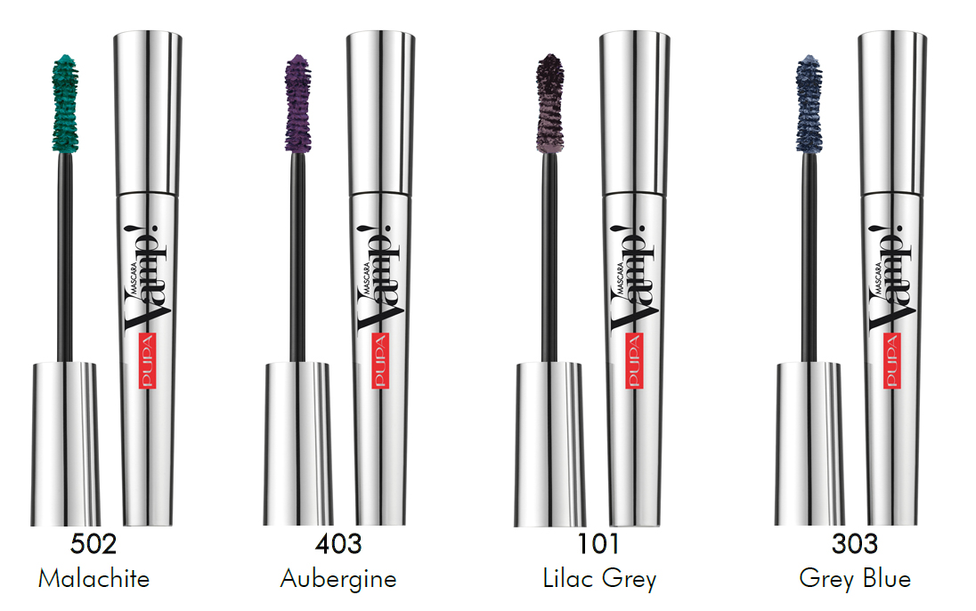 Image of Pupa Vamp! Mascara Mascara Volume Smisurato 303 Grey Blue