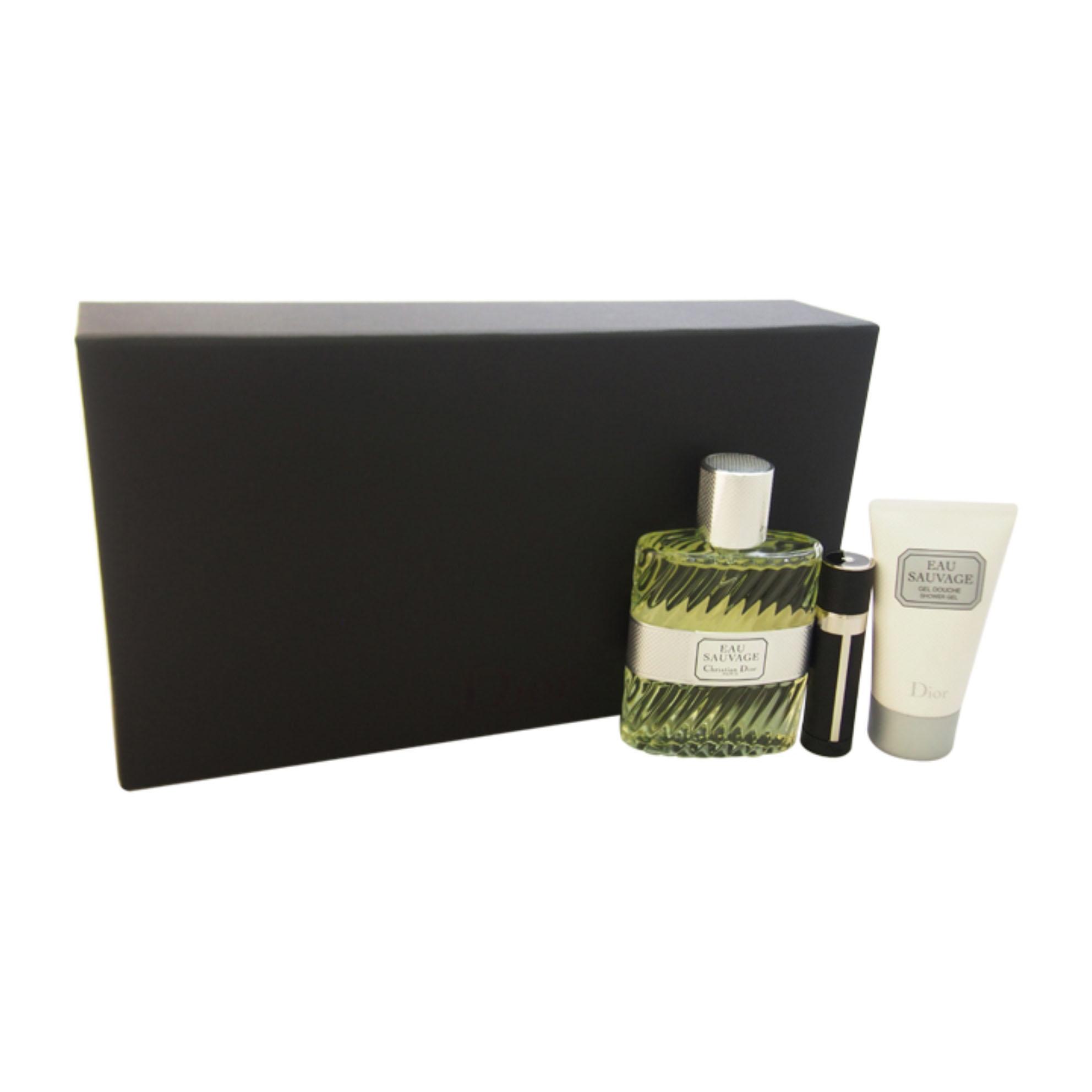 Image of Christian Dior Eau Sauvage Confezione Eau De Parfum 100ml + Latte Corpo 100ml + Eau De Toilette 3ml
