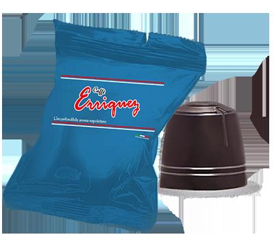 Caffè Erriquez Gusto Forte Capsule Compatibili Nespresso 50 Pezzi