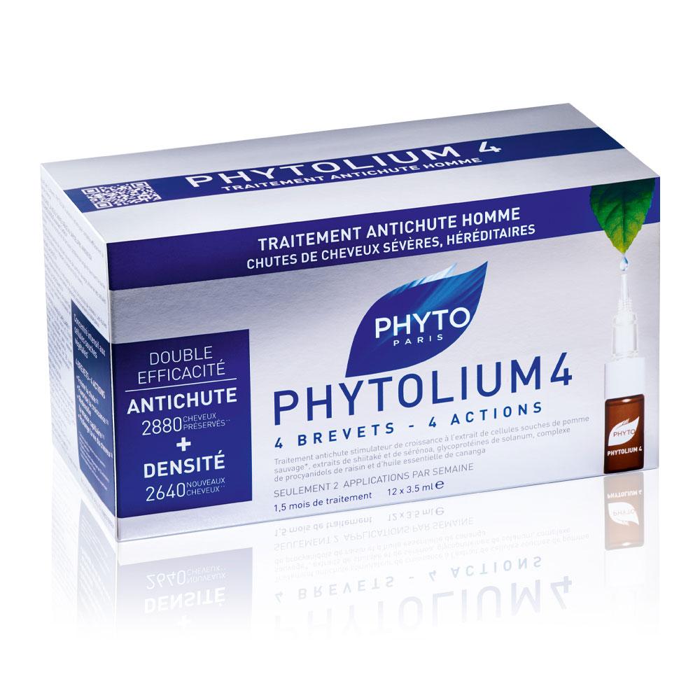 Phytolium 4 Trattamento Anti Caduta Uomo Phyto 12 Fiale