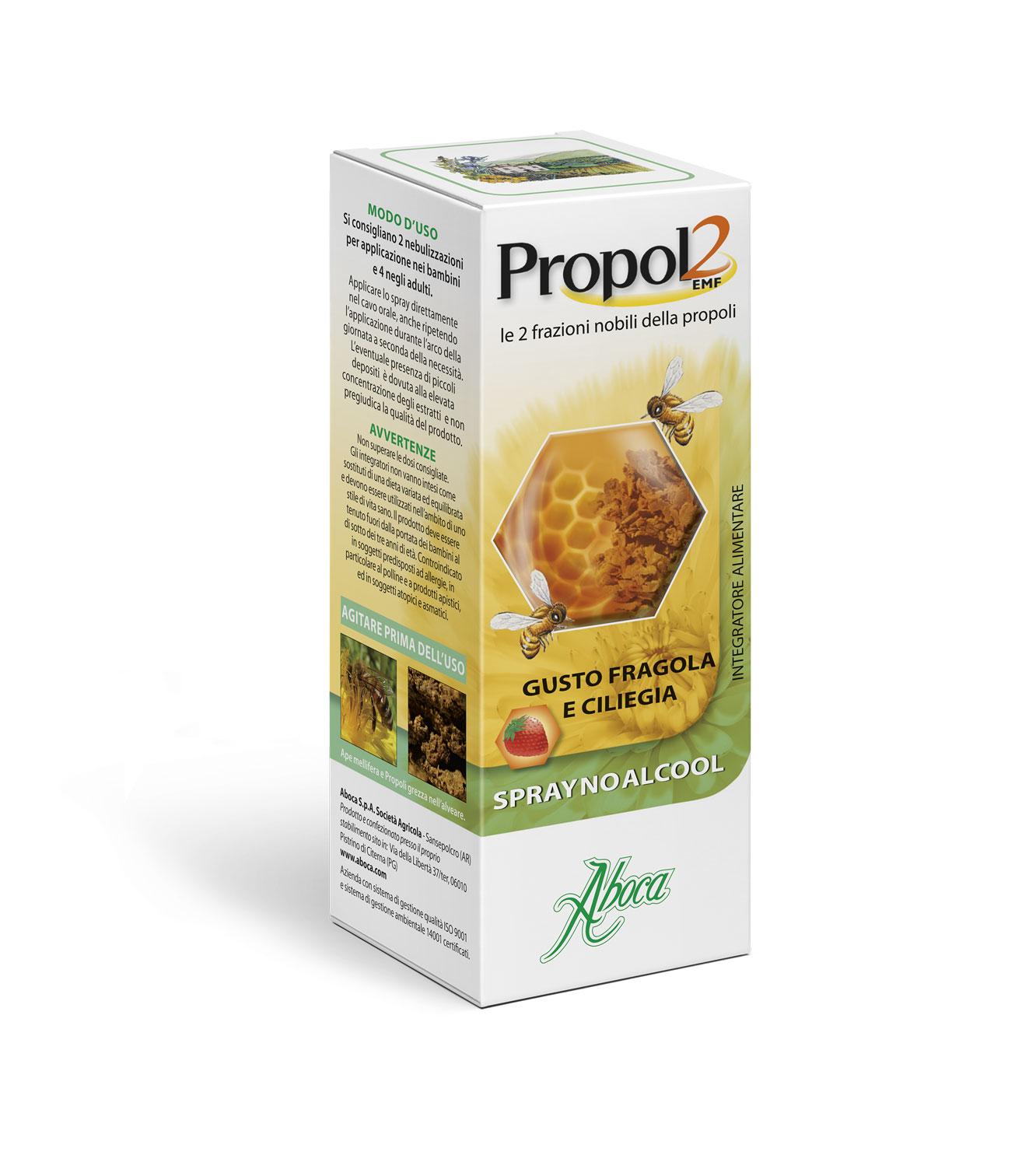 Propol2 Emf Spray No Alcool Aboca 30ml