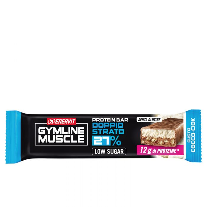 Protein Bar 27% Cocco Ciok Enervit Gymline Muscle 45g