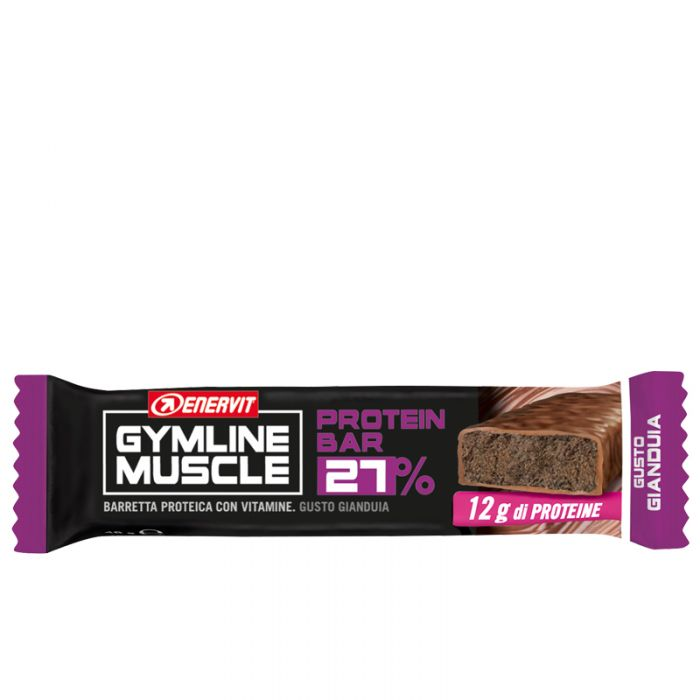 Protein Bar 27% Gianduia Enervit Gymline Muscle 45g
