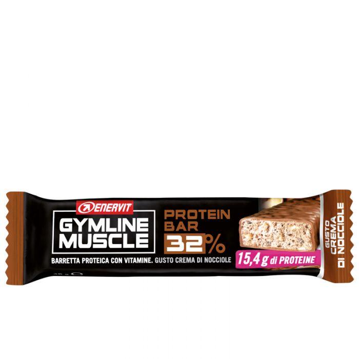 Protein Bar 32% Crema Di Nocciole Enervit Gymline Muscle 48g