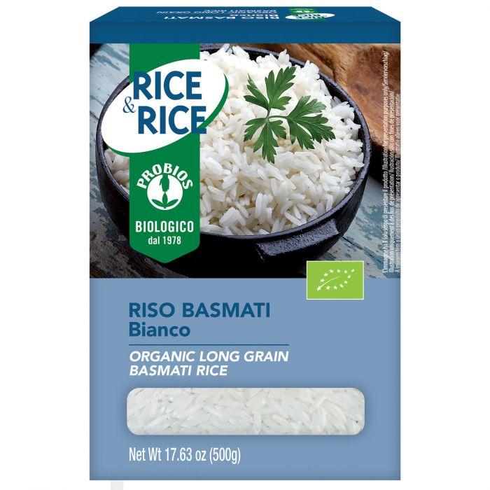 Rice&Rice Riso Basmati Bianco Probios 500g