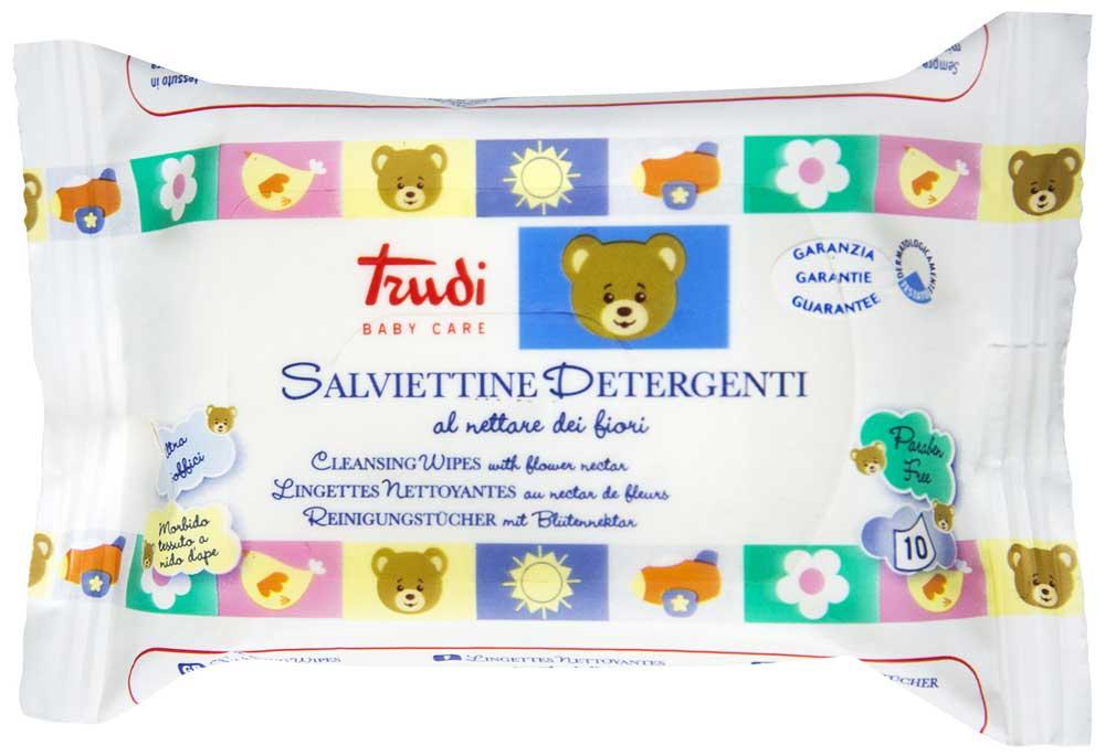 Salviettine Detergenti Trudi Baby Care 10 Pezzi
