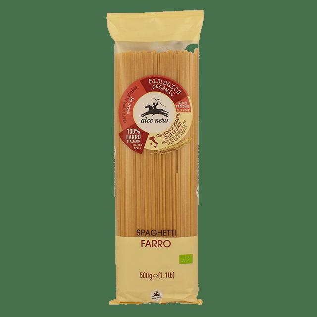 Spaghetti Di Farro Biologici Alce Nero 500g
