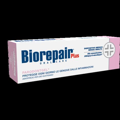 Biorepair Oral Care Plus Parodontgel Protegge le Gengive dalle Infiammazioni 75ml