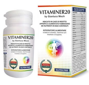 TIsano® Complex Vitaminer 20 Gianluca Mech® 30 Compresse