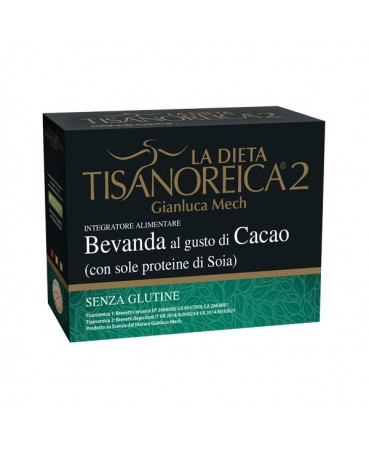 Tisanoreica 2® Bevanda Al Gusto Di Cacao Gianluca Mech® 4x30g