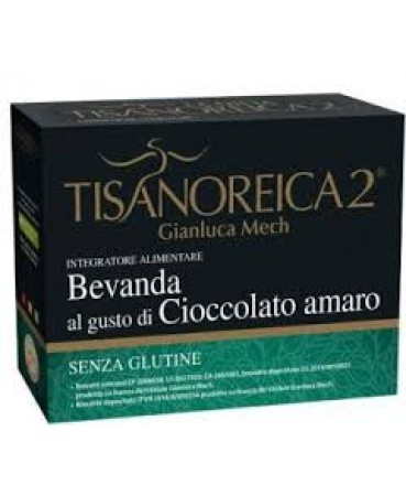 Tisanoreica 2® Bevanda Al Cioccolato Amaro Gianluca Mech® 4x34g