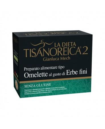 Tisanoreica 2® Preparato Tipo Omelette Al Gusto Di Erbe Fini Gianluca Mech® 4x27,5g