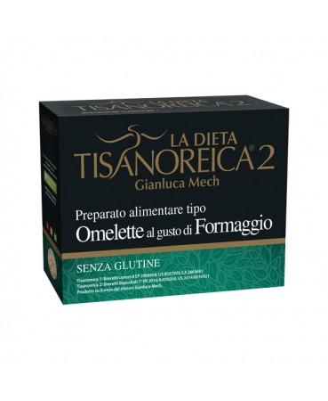 Tisanoreica 2® Preparato Tipo Omelette Al Gusto Di Formaggio Gianluca Mech® 4x27,5g