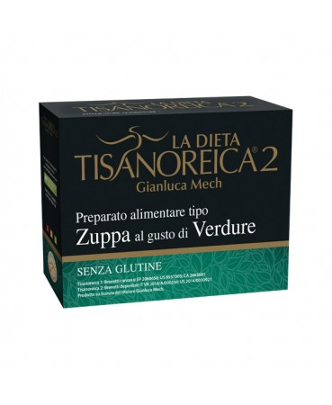 Tisanoreica 2® Preparato Tipo Zuppa Al Gusto Di Verdure Gianluca Mech® 4x30g